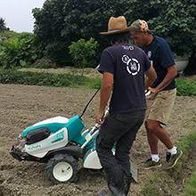 自然栽培パーティ チーム沖縄が、サッカー元日本代表 高原直泰選手率る沖縄SV(エスファウ)と連携!
