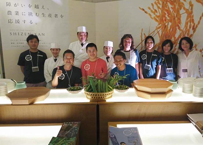 [イベント報告]自然栽培パーティチーム関東が、「HAPPO-EN Presents BUSINESS EVENT 2017」にてブース出店しました。